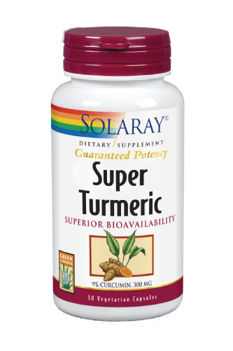 SOLARAY SUPER TURMERIC 30 CAPS
