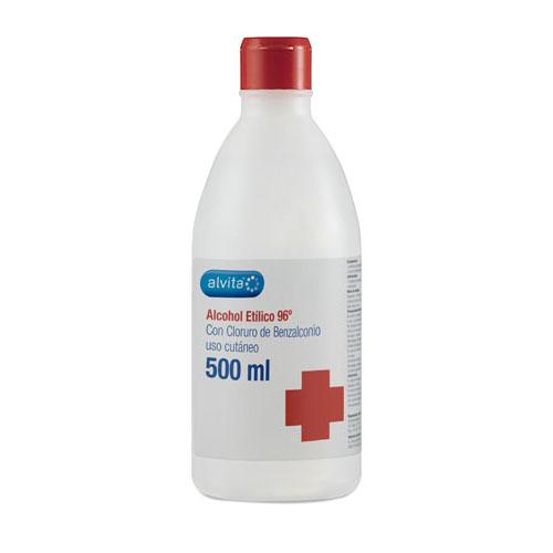 ALVITA ALCOHOL ETILICO 96º (500 ML)