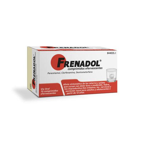 FRENADOL COMPRIMIDOS EFERVESCENTES , 10 comprimidos