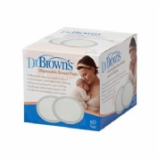 DISCOS ABSORBENTES LACTANCIA - DR BROWN,S DESECHABLES (60 U)