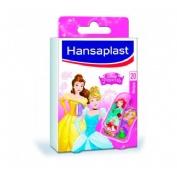 Hansaplast disney - aposito adhesivo (princess 20 u)