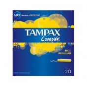 TAMPAX COMPAK REGULAR 20 U