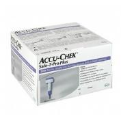Safe t-pro plus lancetas accu-chek esteril (200 lancetas)