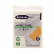 Salvelox med antibact cover - aposito adhesivo (5 apositos 76 mm x 54 mm)
