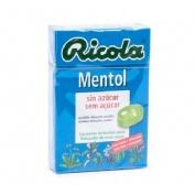 RICOLA CARAM MENTOL S/A 50 G