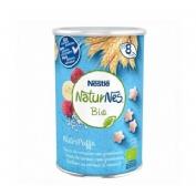 Naturnes bio nutripuffs cereales con frambuesa (35 g)