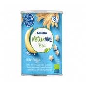Naturnes bio nutripuffs cereales con platano (35 g)