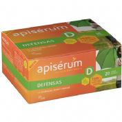 Apiserum defensas (20 viales bebibles)