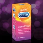 Durex dame placer - preservativos (12 u)