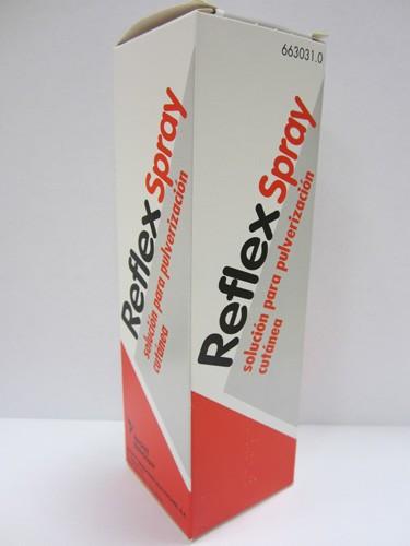 REFLEX SPRAY SOLUCIÓN PARA PULVERIZACIÓN CUTÁNEA, 1 frasco de 130 ml