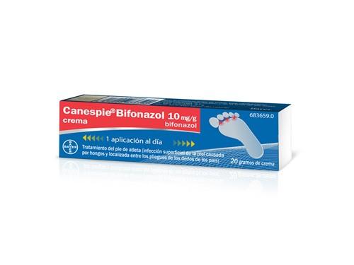CANESPIE BIFONAZOL 10 mg/g CREMA , 1 tubo de 20 g