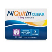 NIQUITIN CLEAR 14 mg, 24 HORAS PARCHE TRANSDERMICO, 14 parches transdermicos