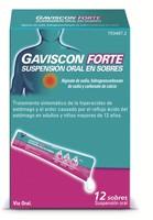 GAVISCON FORTE SUSPENSION ORAL EN SOBRES , 12 sobres