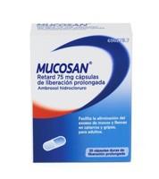 MUCOSAN RETARD 75 mg CAPSULAS DE LIBERACION PROLONGADA , 30 cápsulas