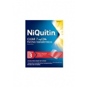 NIQUITIN CLEAR 7 mg/24H PARCHES TRANSDÉRMICOS , 14 parches