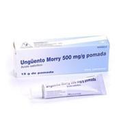 UNGÜENTO MORRY 500 mg/g POMADA, 1 tubo de 15 g