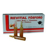 Revital fosforo (20 ampollas bebibles)