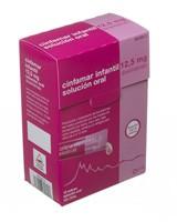 CINFAMAR INFANTIL 12,5 mg SOLUCION ORAL , 12 envases unidosis de 5 ml